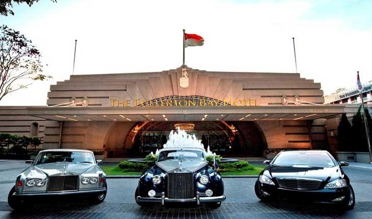 هتل فولرتون بی ، بهترین هتل سنگاپور 