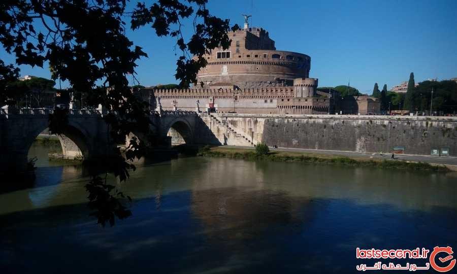 نمایی از قلعه سنت آنجلو