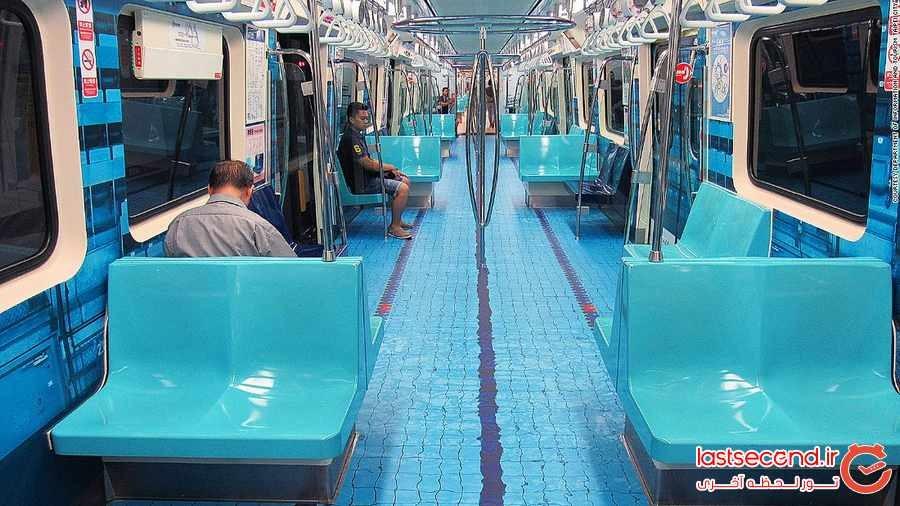 استخر شنا در قطار تایوان