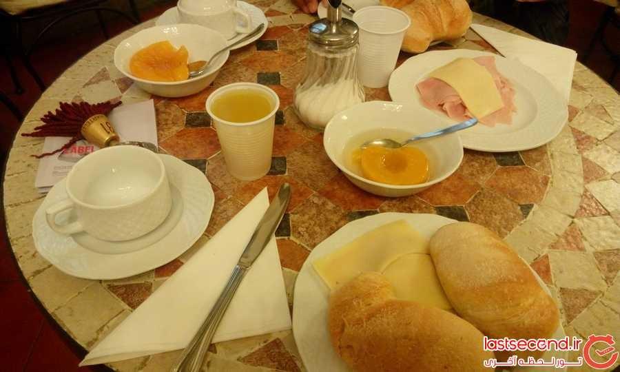 صبحانه هتل ARCHIMEDE