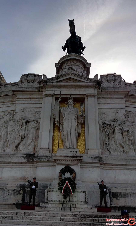 مقبره سرباز گمنام در رم