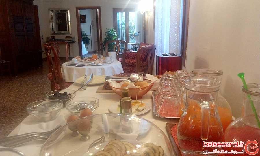 صبحانه هتل کا فور موسا