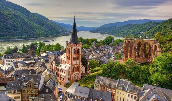 ده شهر کوچک و خوش منظره در آلمان 