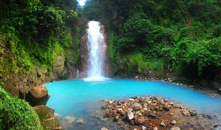 آبشار رودخانه بهشتی ، آبشاری خارق العاده در کاستاریکا