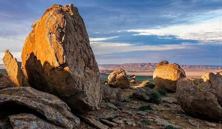 دره ی فضایی، جاذبه ای شگفت انگیز در قزاقستان