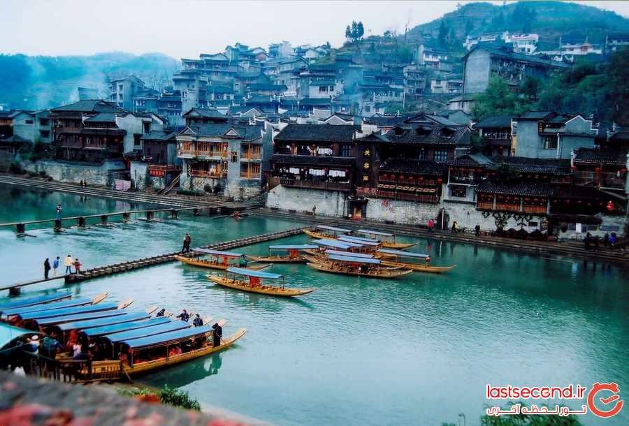 10 شهر زیبا و کوچک در چین 