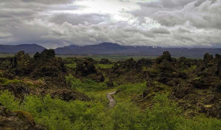 قلعه های تاریک ، منطقه ای عجیب و خارق العاده در ایسلند 