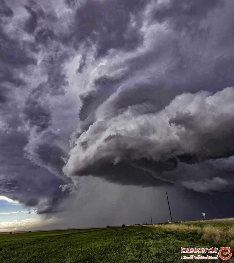 وقتی آسمان خشمگین می شود  