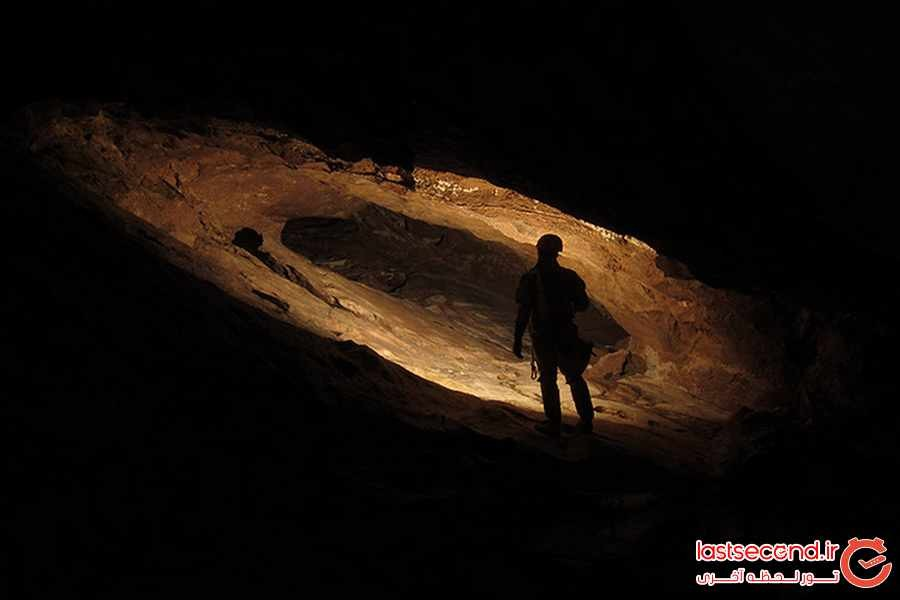 بازی با مرگ درمخفوف ترین غار ایران 