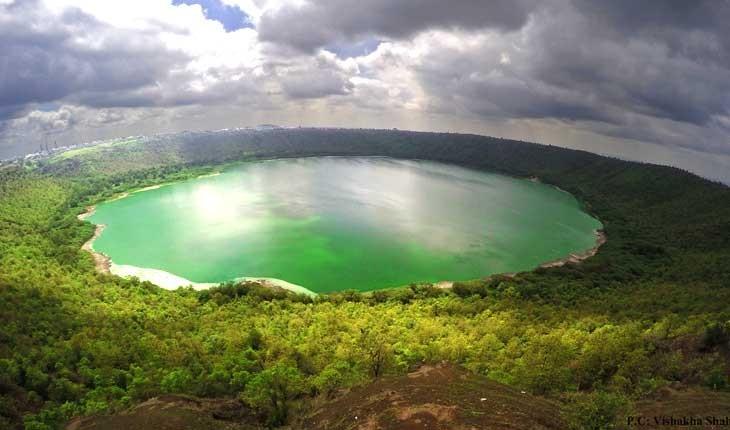 دریاچه لونار ،  دریاچه ای فرازمینی در هند 