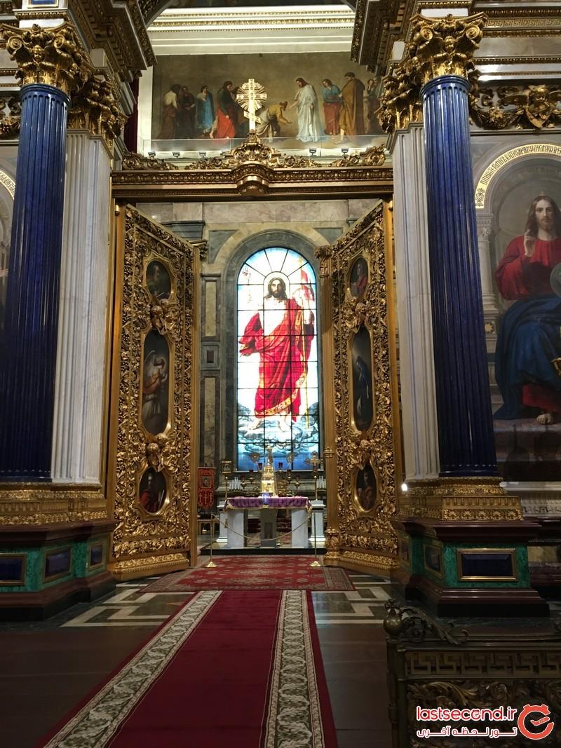 فضای داخلی کلیسای سنت اسحاق