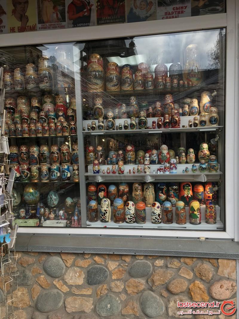 مغازه صنایع دستی در کرملین ایزمایلوو