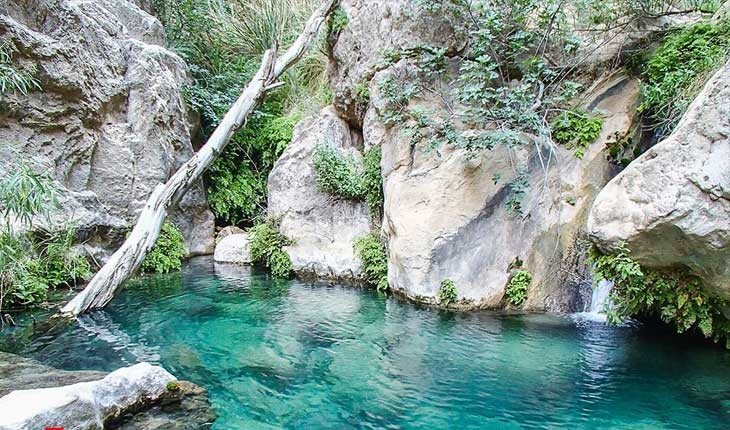 تنگه رغز، بهشتی در میان کوه های فارس
