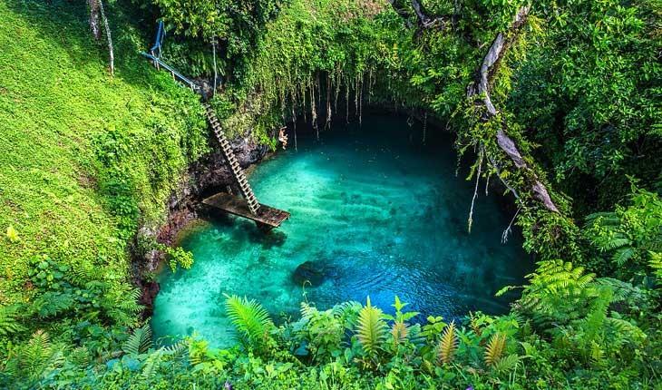 ساموا ، جزیره گم شده در اقیانوس آرام 