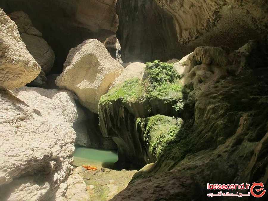 آبشار بوچیر تمدنی در دل کویر