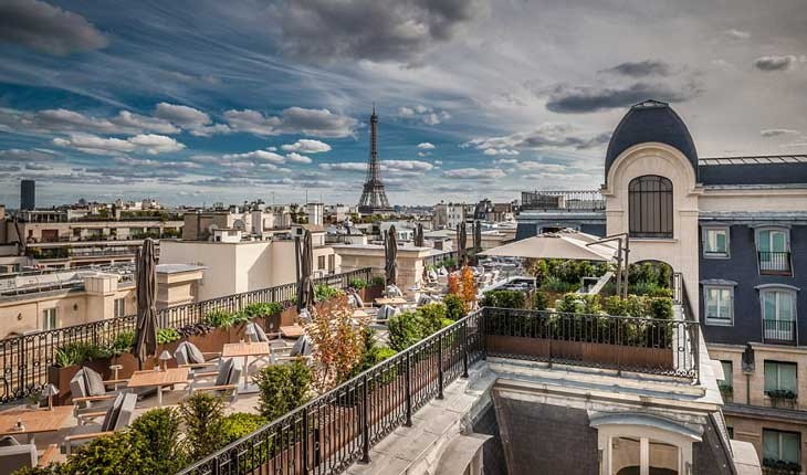 هتل پنینسولا، یکی از برترین و لوکس ترین هتل های پاریس