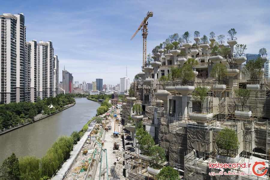 ساختمان سبز ، جاذبه جدید شهر شانگهای 