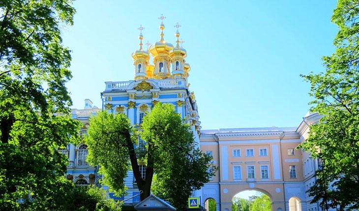 کاخ کاترین، جاذبه ای بی نظیر در سن پترزبورگ