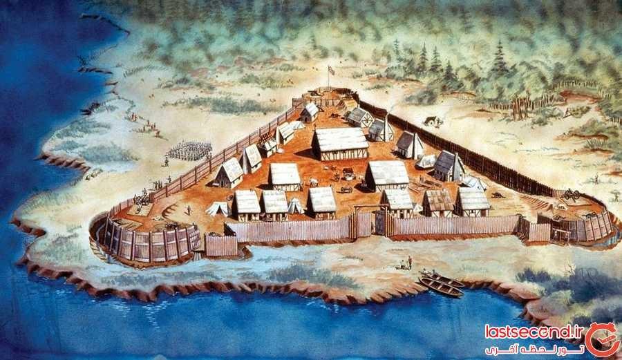 اولین سکونتگاه انگلیسی در آمریکا