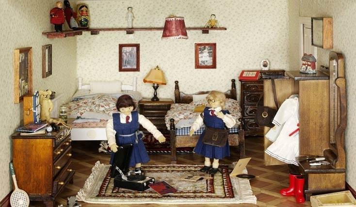 خانه های عروسکی، کتاب هایی به قدمت تاریخ