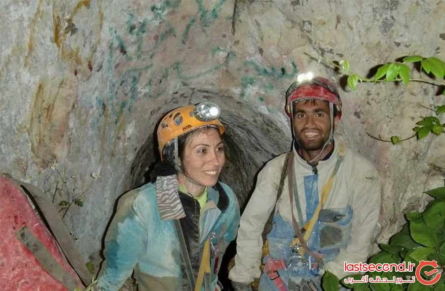 غار سم دومین غارعمیق و خطرناک ایران