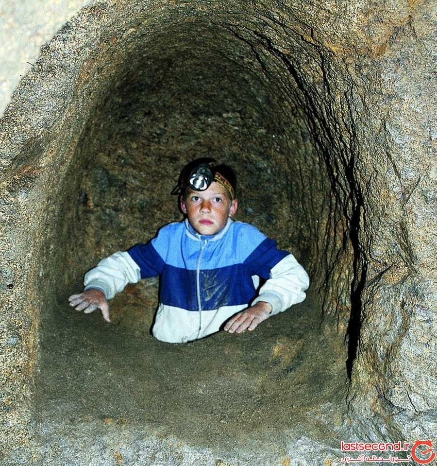 تونل های زیرزمینی اسرارآمیز با رازهای ناگفته 