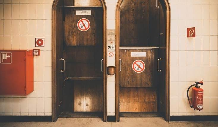 این آسانسور هیچ گاه نمی ایستد!