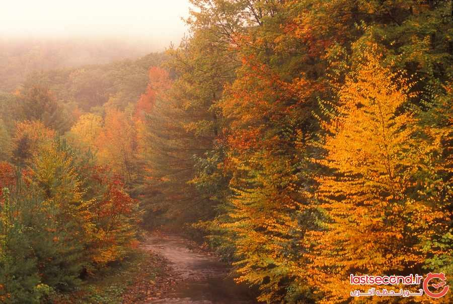 10 مکان رویایی برای تماشای پاییز