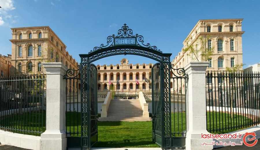 10 ساختمان تاریخی که به هتل تبدیل شده اند 