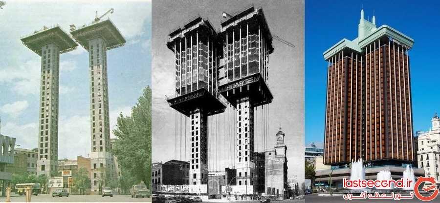 بنایی که از بالا به پایین ساخته می شود!