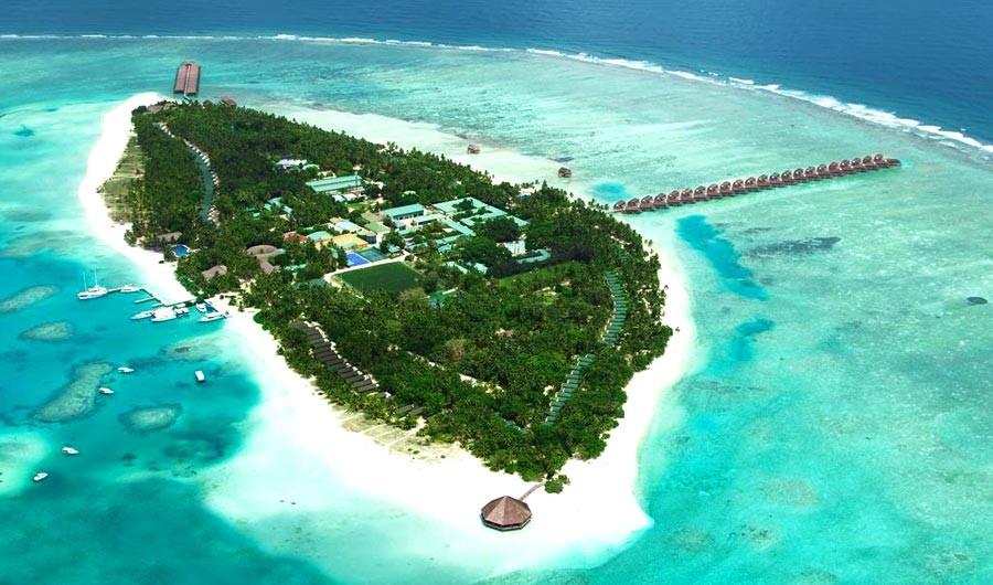 میرو آیلند ریزورت ، بهشتی در میان درختان نخل مالدیو 