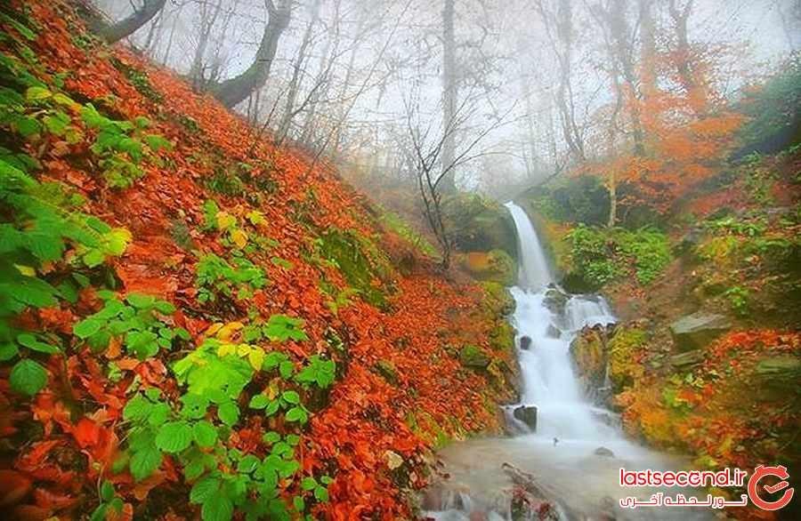 سفری به قلب پاییز در روستای سنگده مازندران