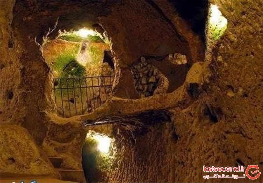 سامن؛ شهر پنهان شده زیرزمینی همدان