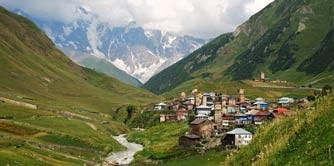 سفرنامه مستیا به اوشگولی (گرجستان)