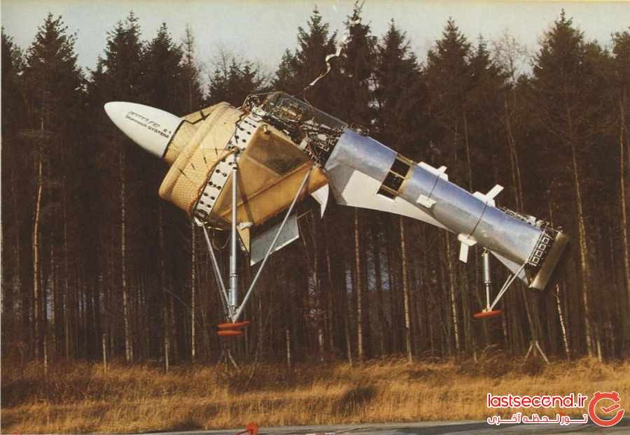 عجیب ترین هواپیماهای جهان !