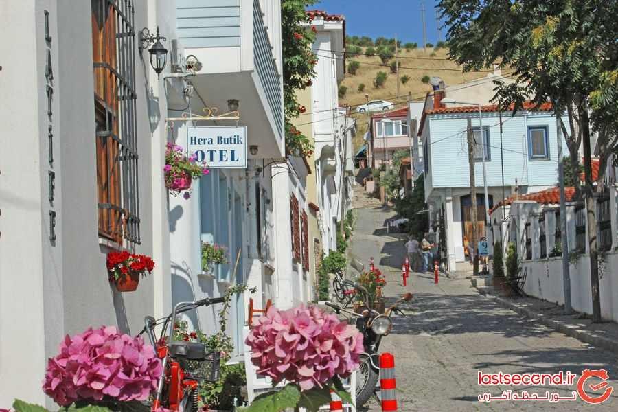 بزجاآدا ، جزیره ای آرام و ناشناخته در ترکیه