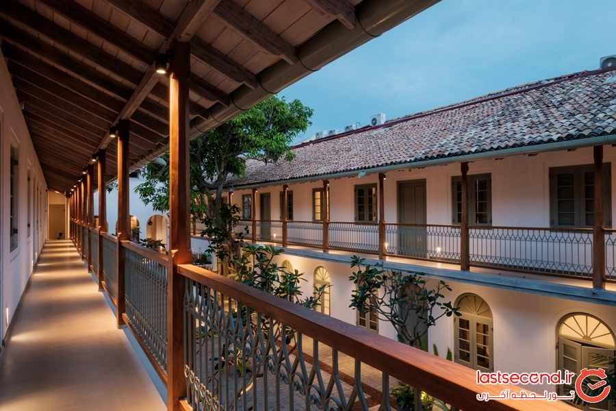 هتل فورت بازار ، هتلی در دل یک قلعه تاریخی  