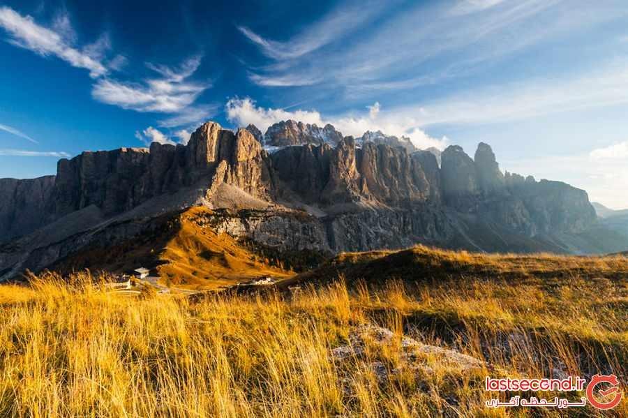 پاییز زیبا و خارق العاده دولومیت ایتالیا 