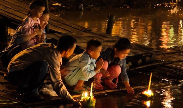 لوی کراتونگ ، فستیوال رویاهایی که به آب سپرده می شوند در تایلند 