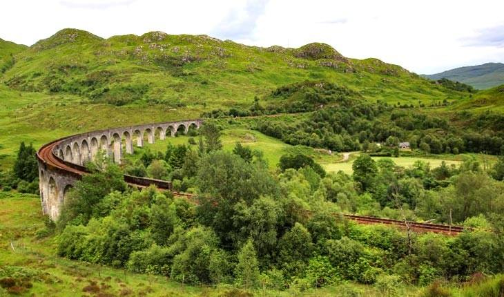 از پل هری پاتر در اسکاتلند دیدن کنید