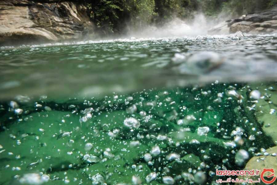 رودخانه ی که موجودات زنده را به کام مرگ می کشد!