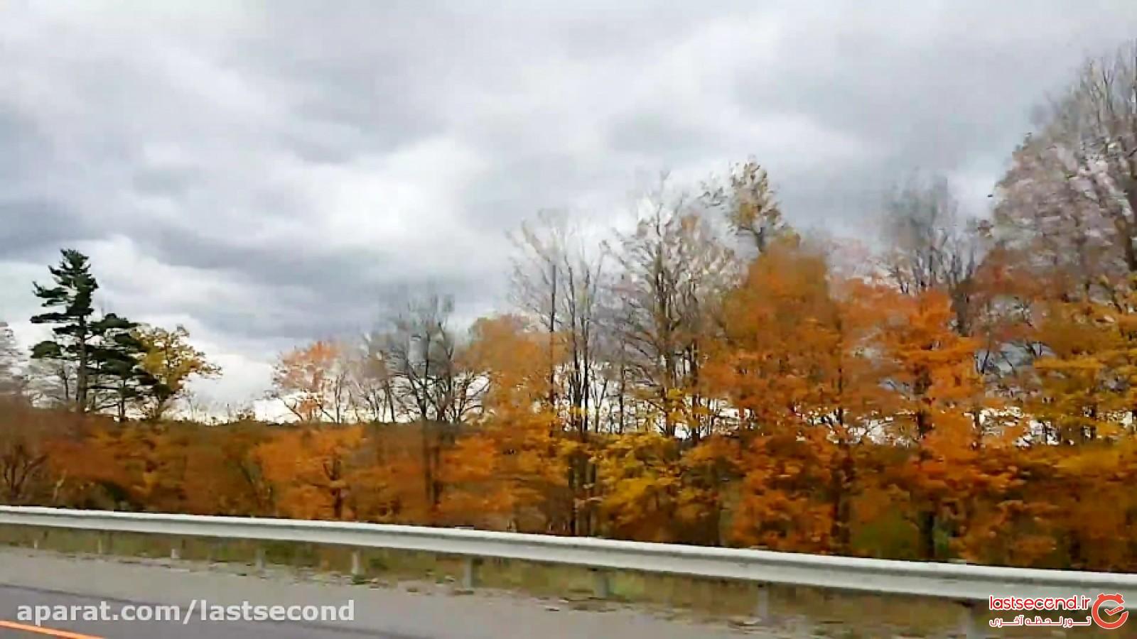 پاییز بسیار زیبا و دیدنی در تورنتو، کانادا