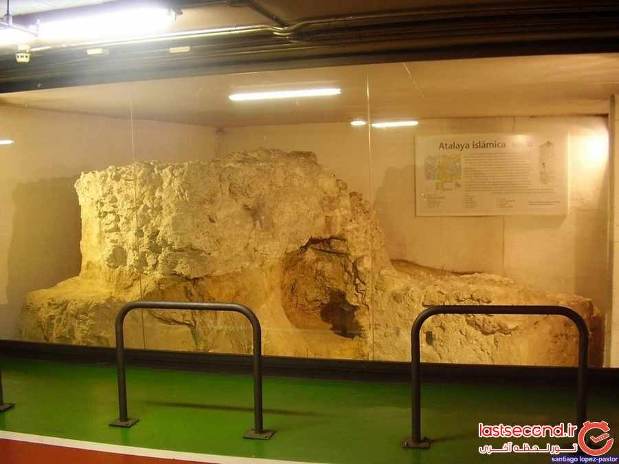 برجی از استخوان در شهر مادرید