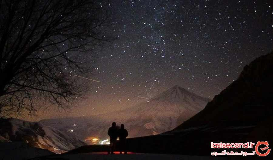 دشت آرزوها زیر بارش ستاره