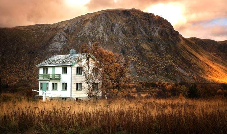 تصاویری از خانه های متروکه در نروژ 
