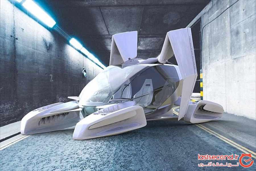 پرواز به آینده با تاکسی پرنده پنج نفره 