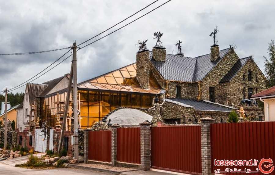 ترسناک ترین خانه ی دنیا در بلاروس
