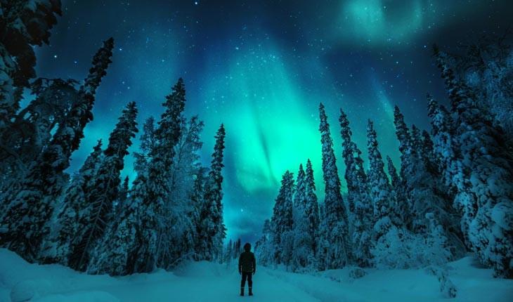 این تصاویر شما را به تماشای شفق قطبی ترغیب می کند