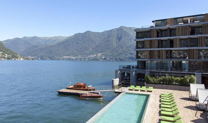 ویلا پرینسیپ لئوپولدو ، هتلی رویایی در سوییس 