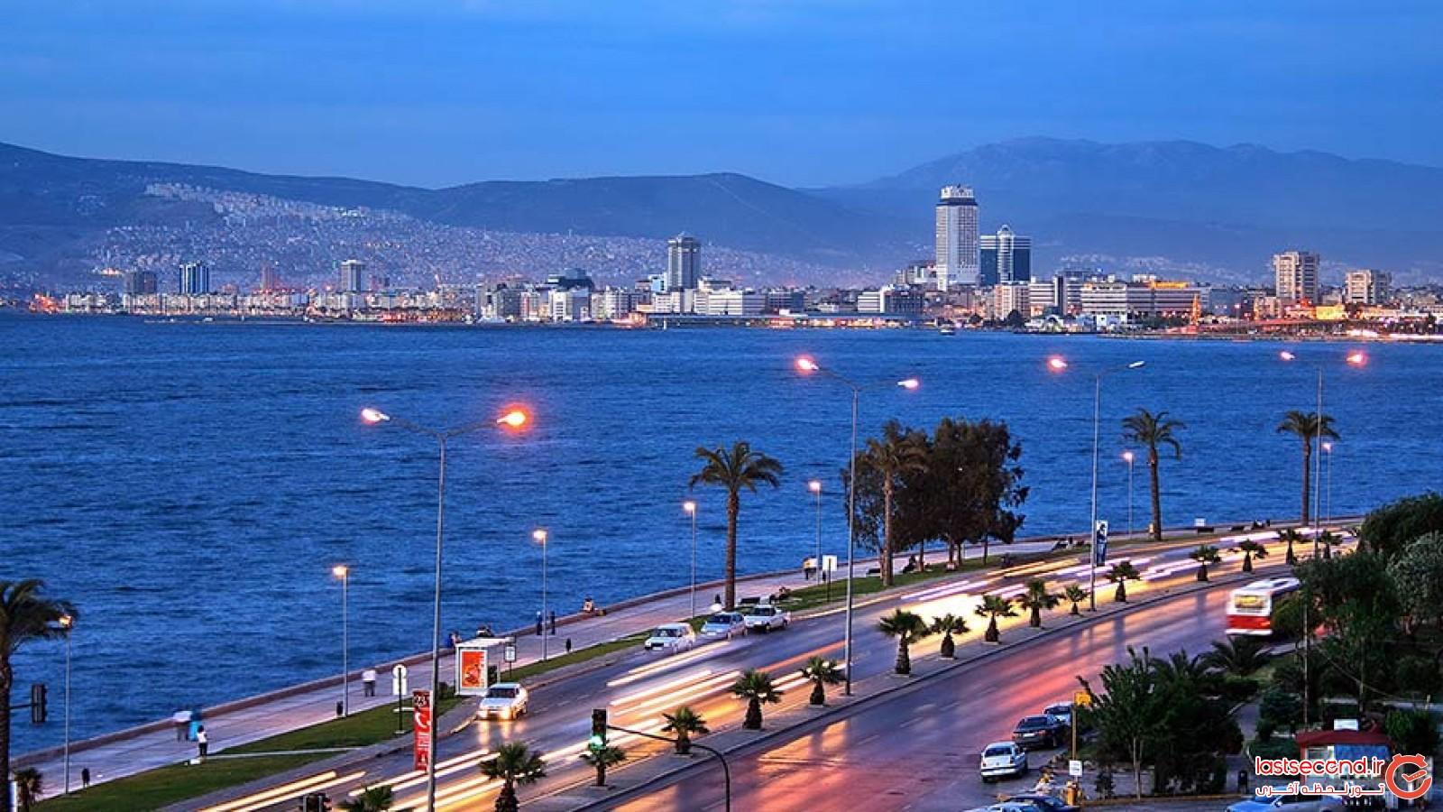 ازمیر، عروس دریای اژه در ترکیه
